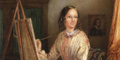 Porträtt av Nonnen